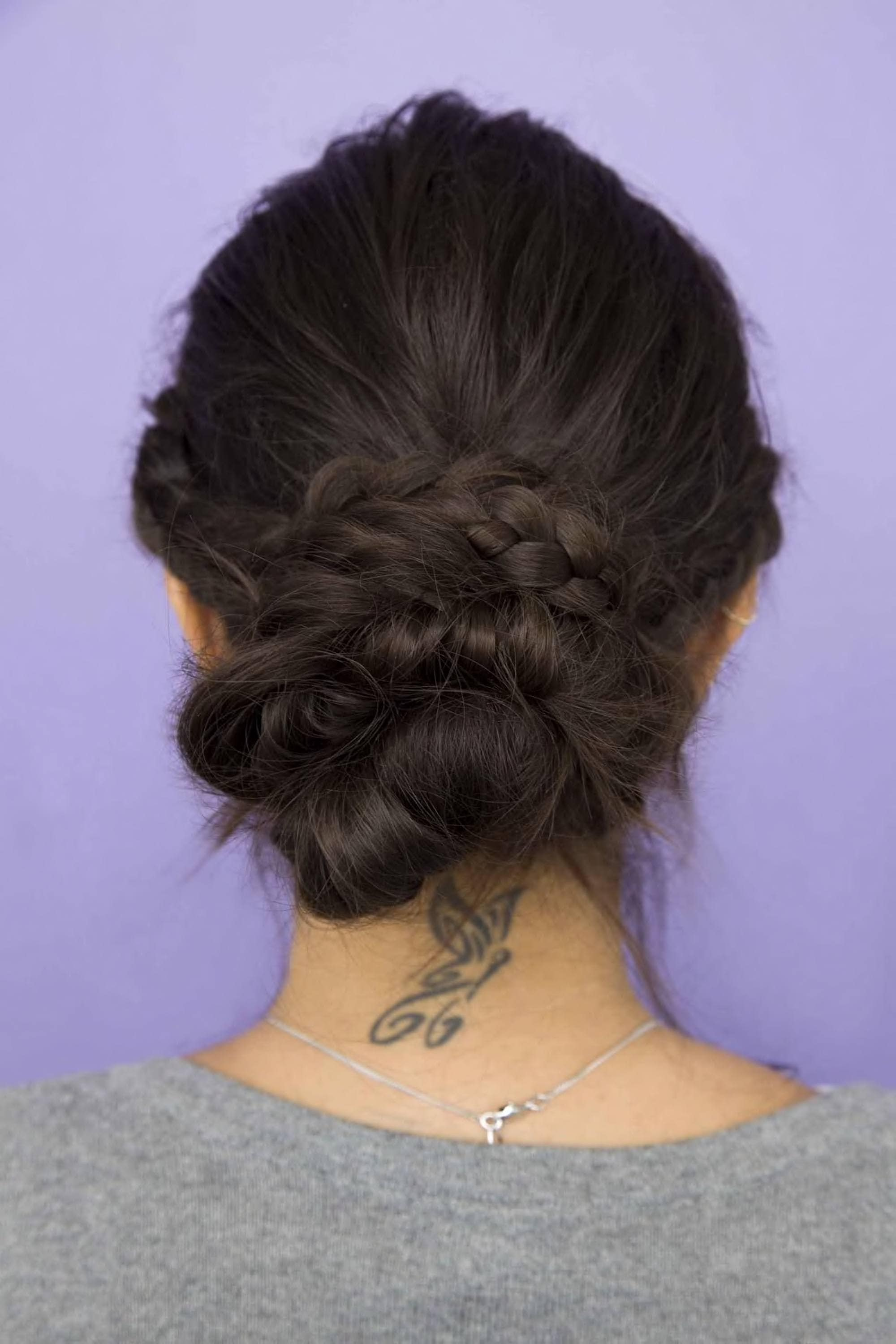 bun hairstyles: hair trends and stylish updos to try