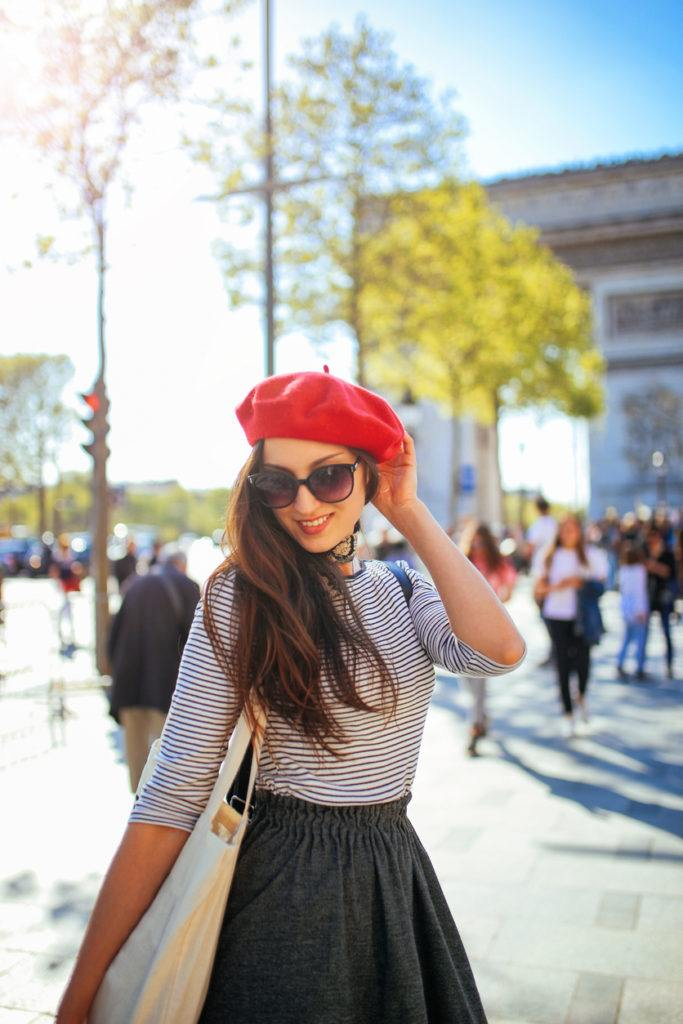french hairstyles: beret