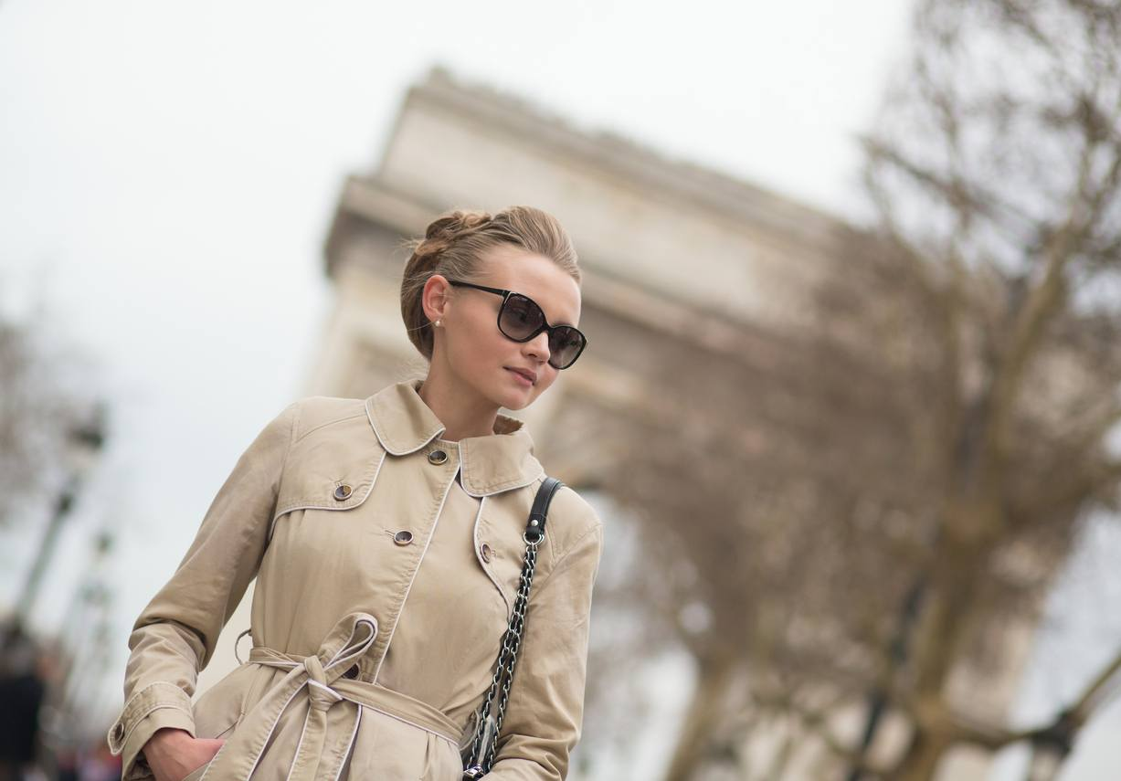 French hairstyles: bouffant