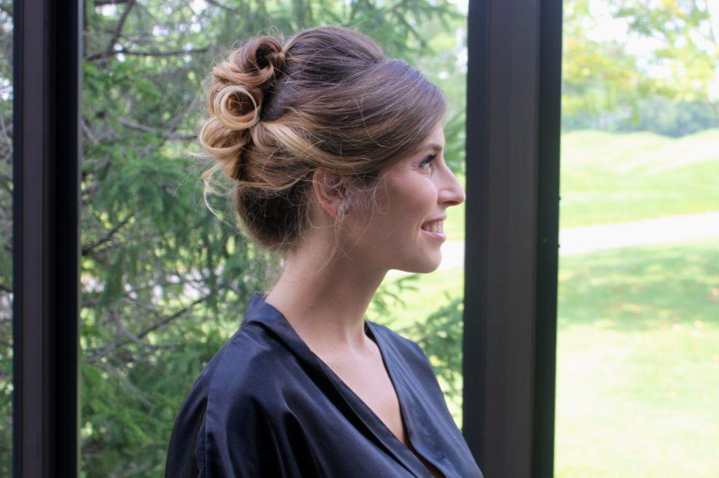 soft curls wedding updos for long hair