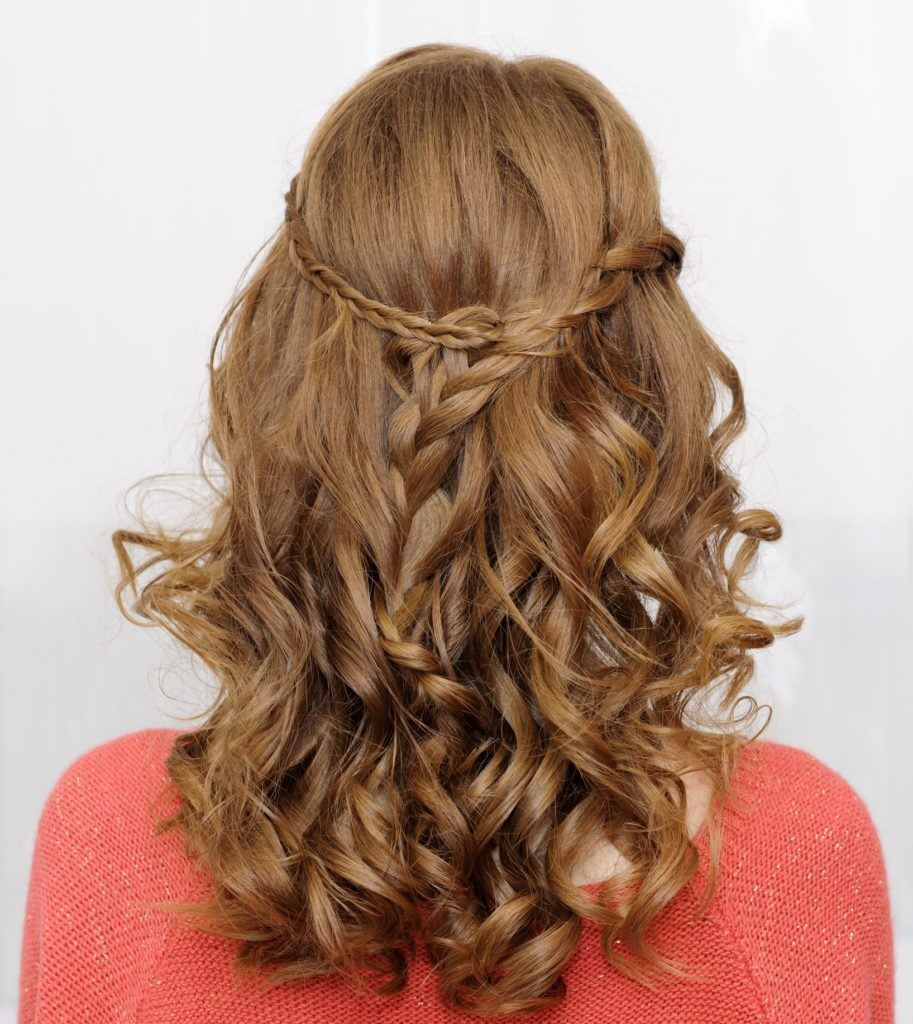 hairdos for curly hair different size braids
