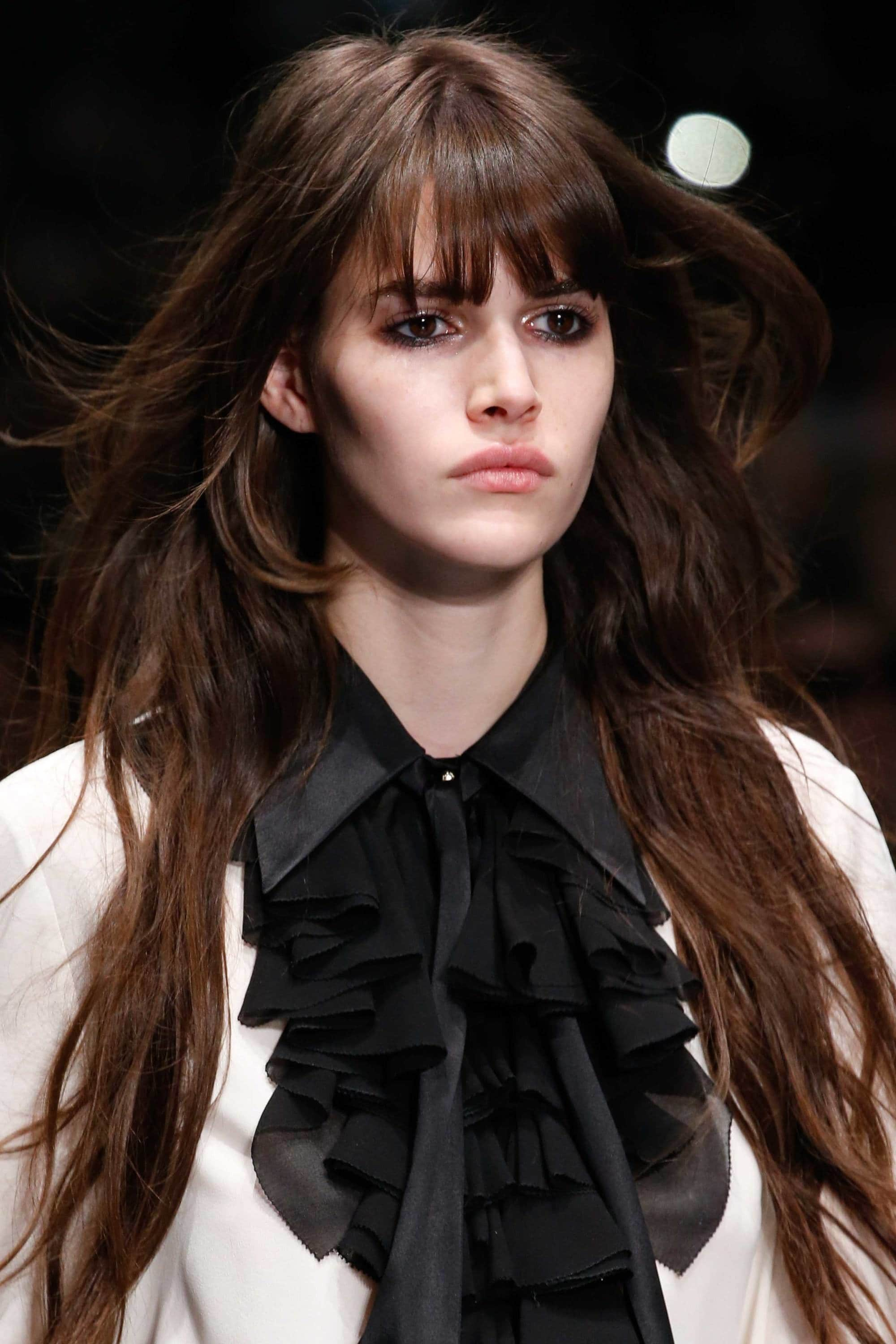 Wispy Bangs Have Been All Over Our Feeds And We Re Obsessed