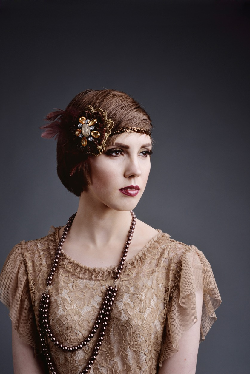 Fashion style Flapper Twenties hairstyles pictures for girls