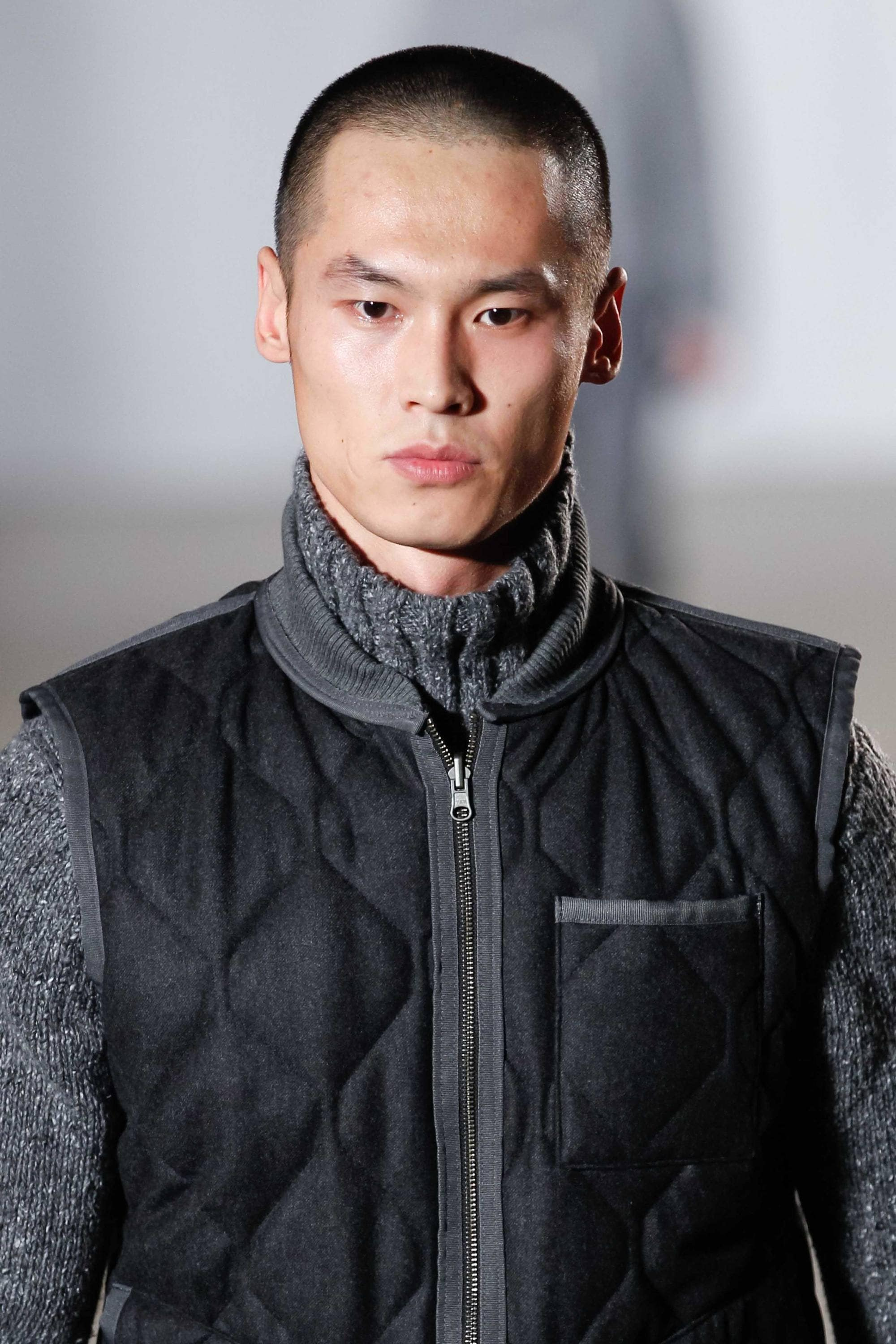 Asian men hairstyles: buzz cut