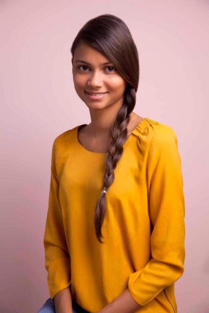 easy braids for long hair regular three-strand