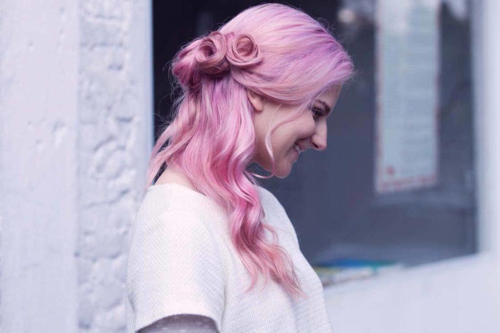 easy hairstyles swirls