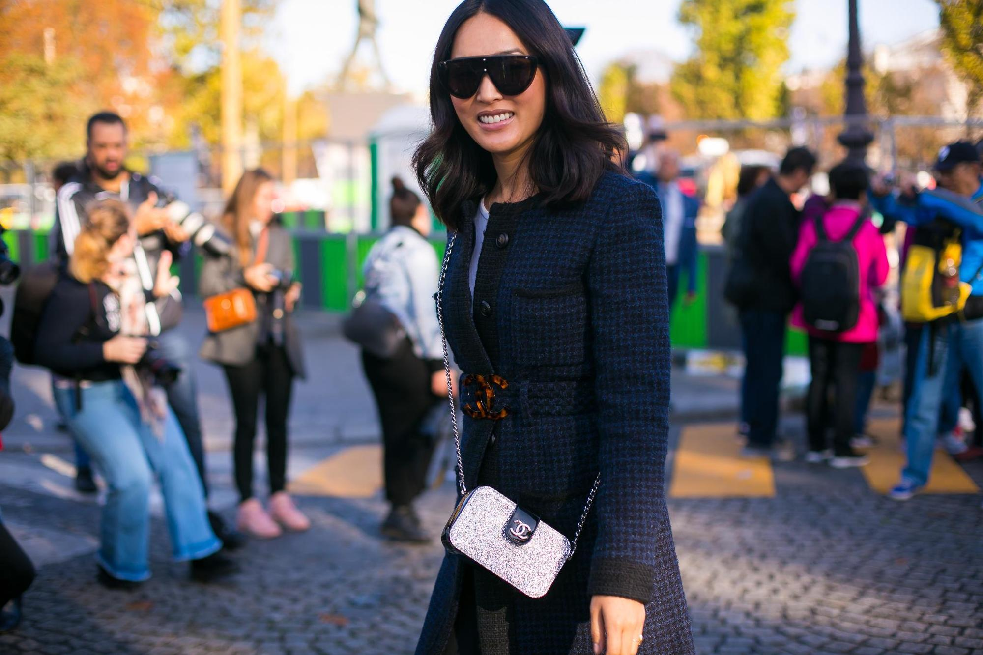 fall waves: sophisticated style