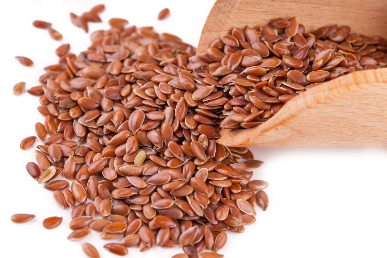 organic hair gel: flaxseed