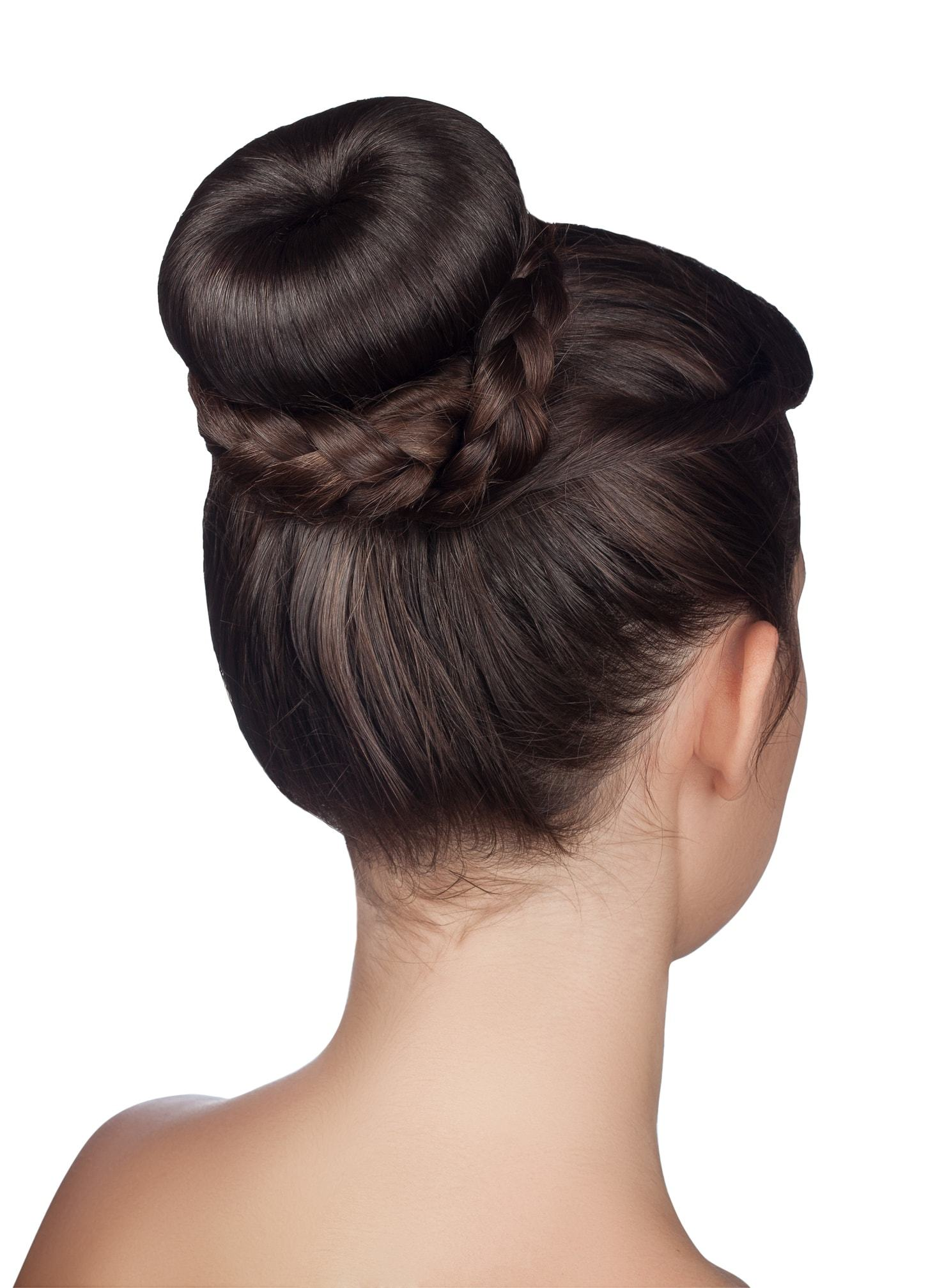 flower girl hairstyles braid bun