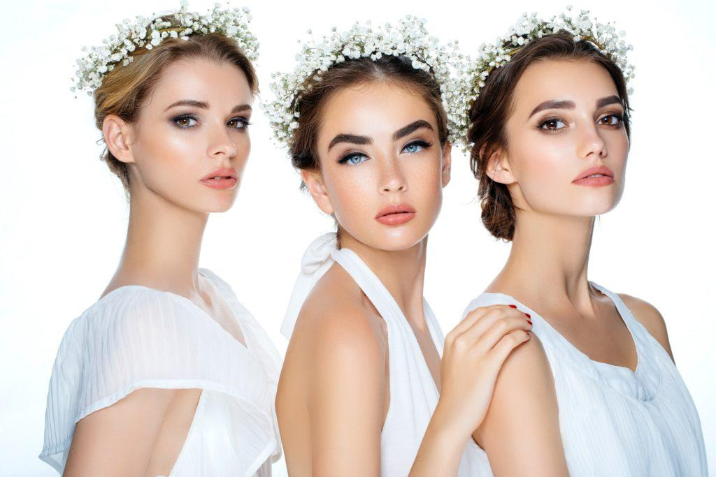 flower girl hairstyles floral crowns