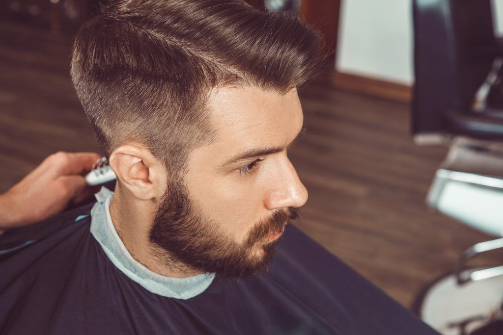 How A Hard Part Haircut Adds An Instant Edge To Your Look