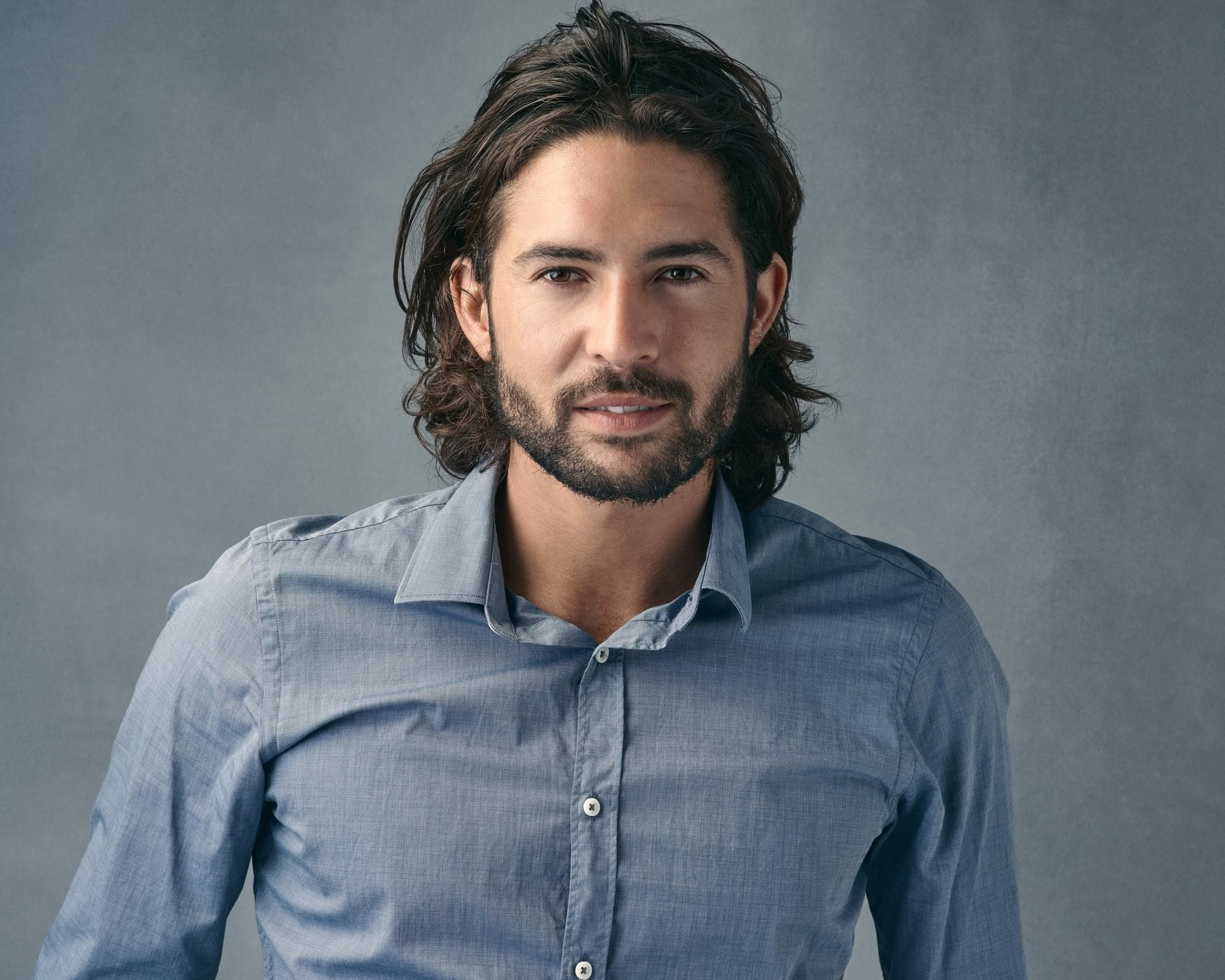 Long Hairstyles for Men with Thick Hair