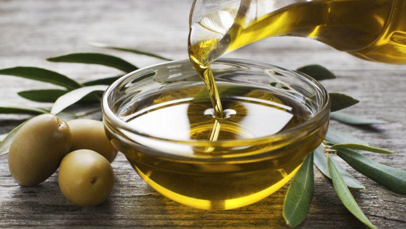 olive oil hair gel