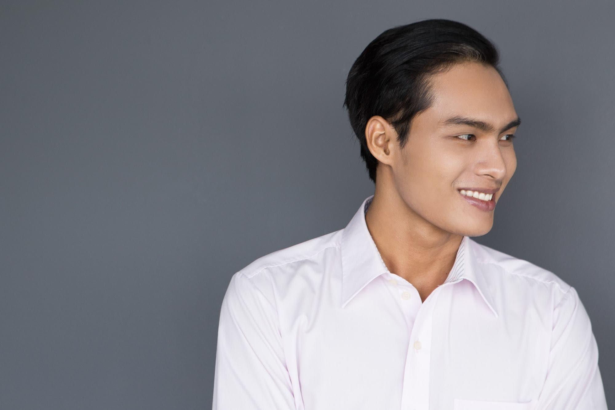 young men haircuts asian medium hair