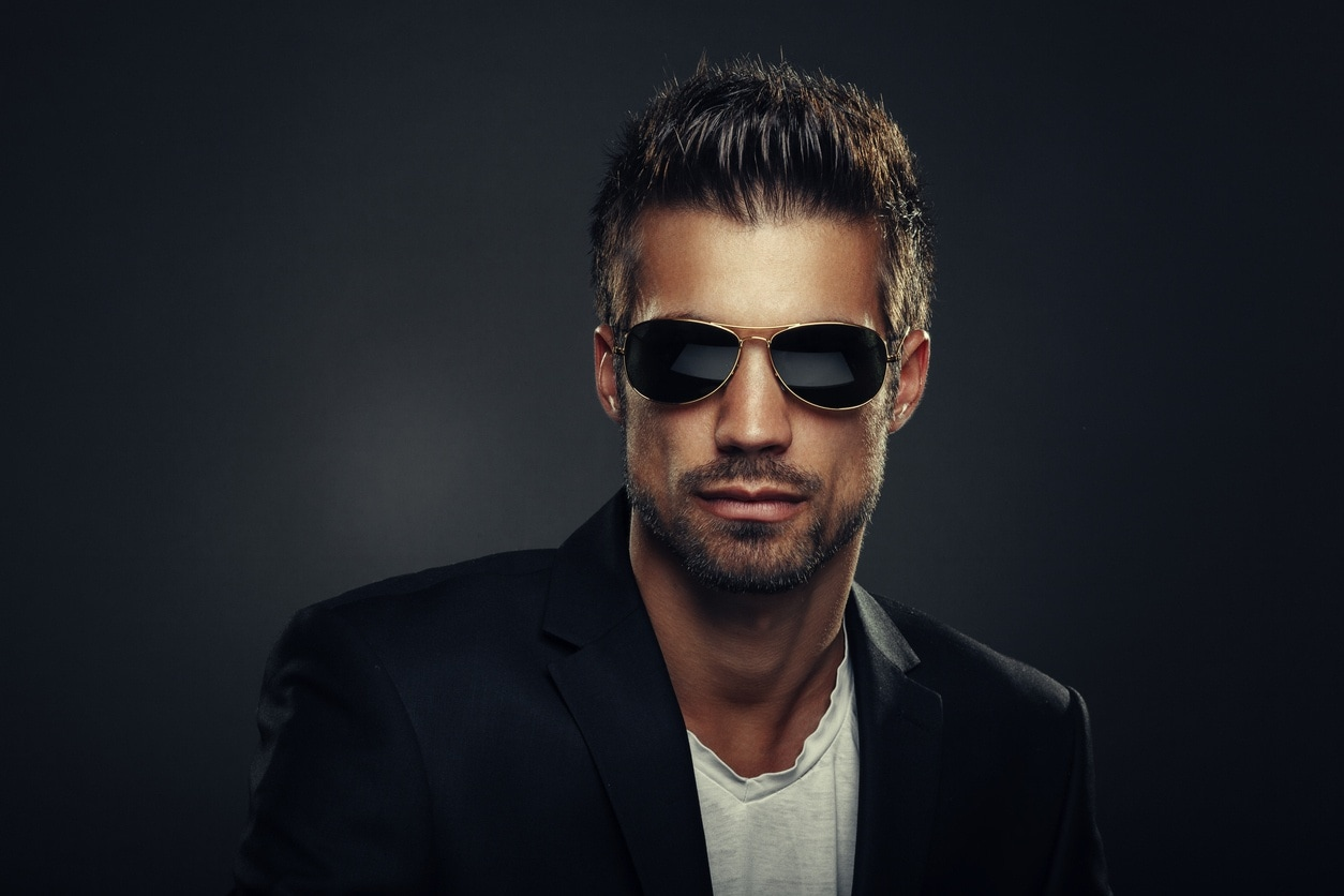 easy hairstyles for guys: clean cut