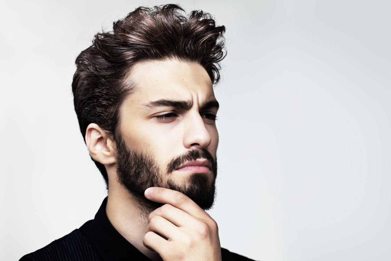 easy hairstyles for guys: layered cut