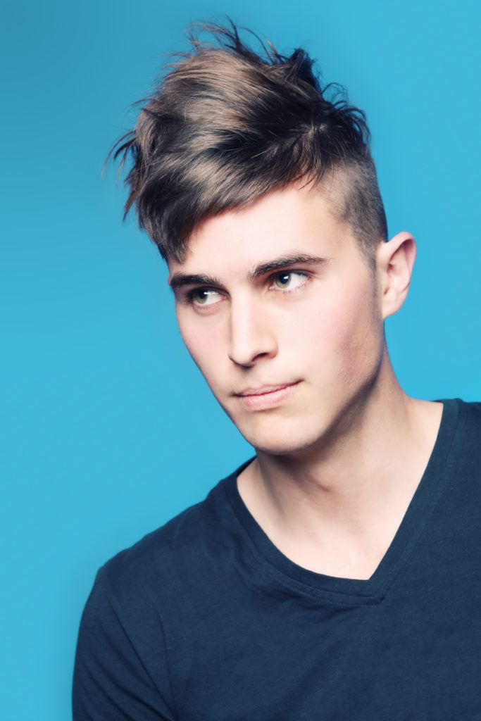 easy hairstyles for guys: mohawk