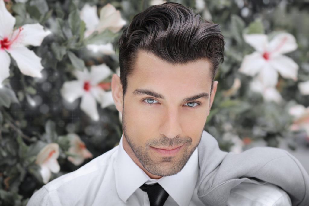 easy hairstyles for guys: smooth wave