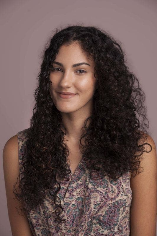 easy styles for curly hair loose curls