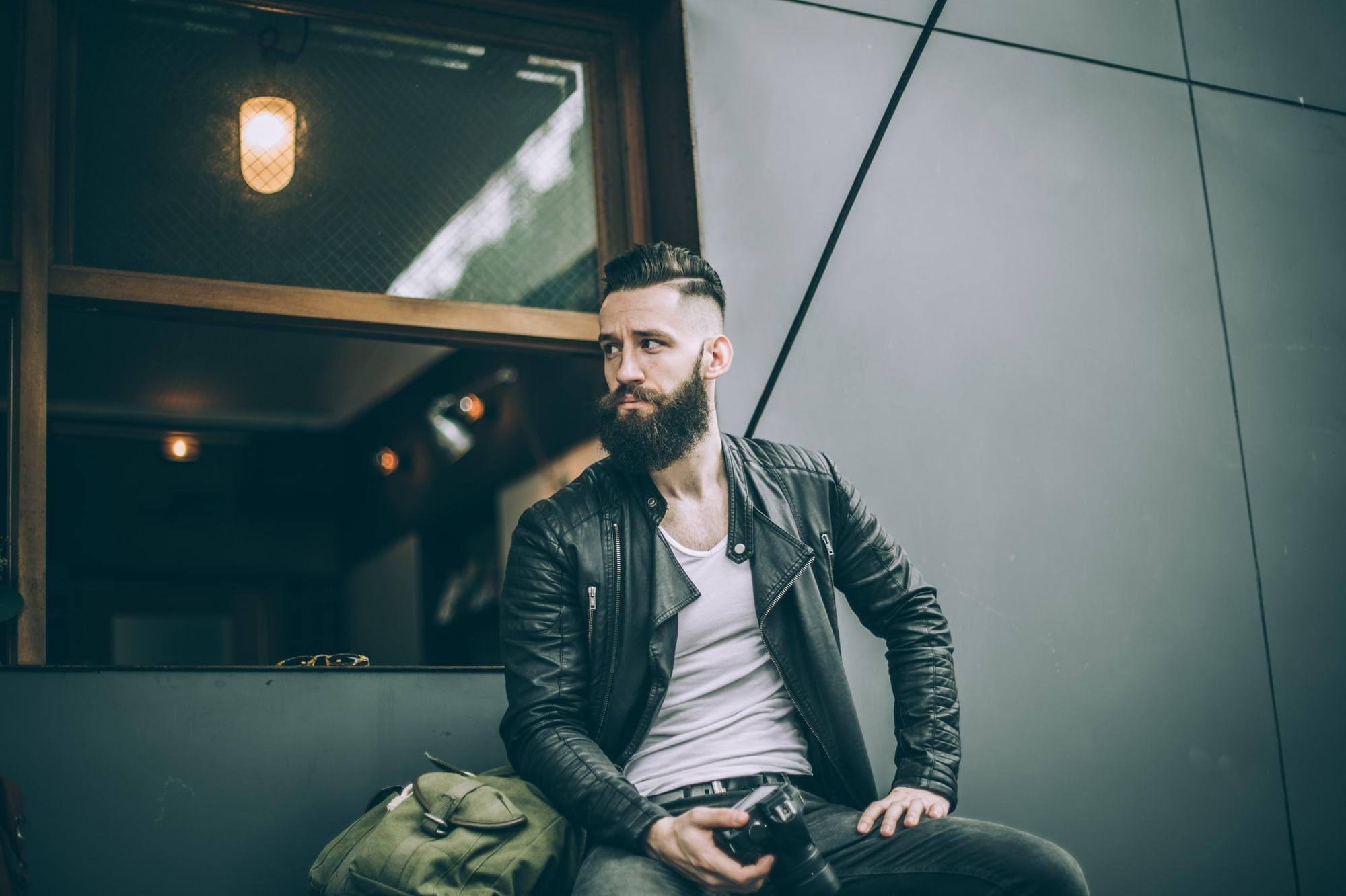 mens hairstyles 2017 classic fade beard