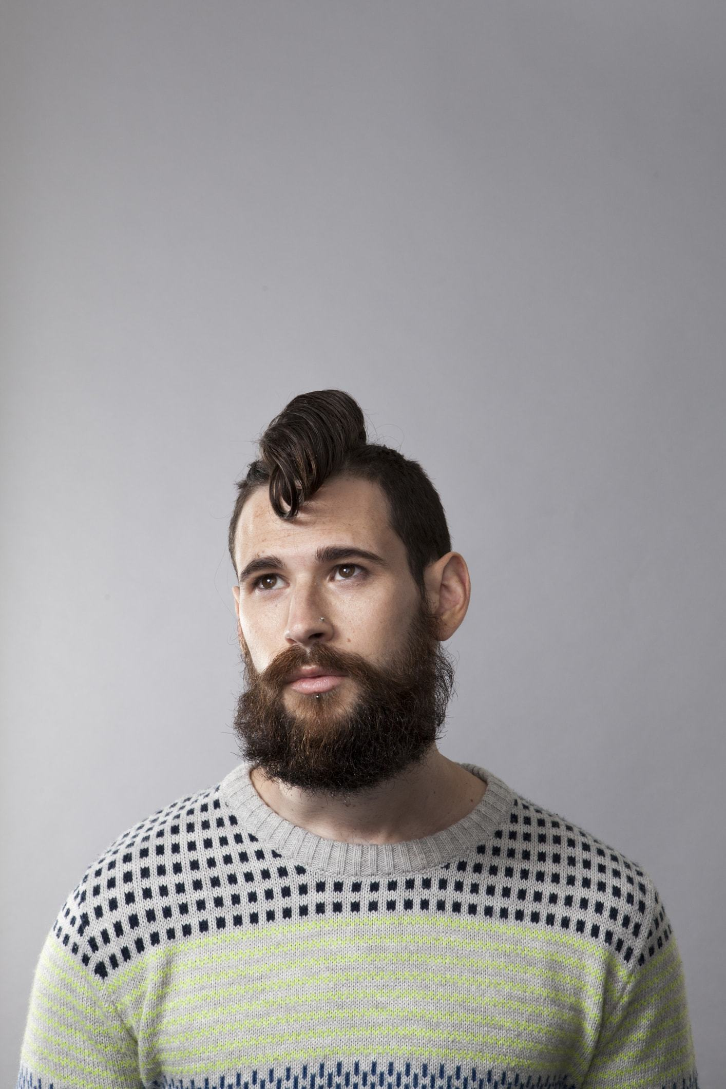 how to grow out mohawk