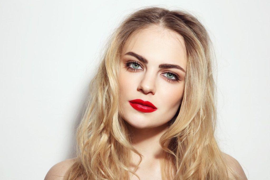 rooty golden blonde natural blonde hair