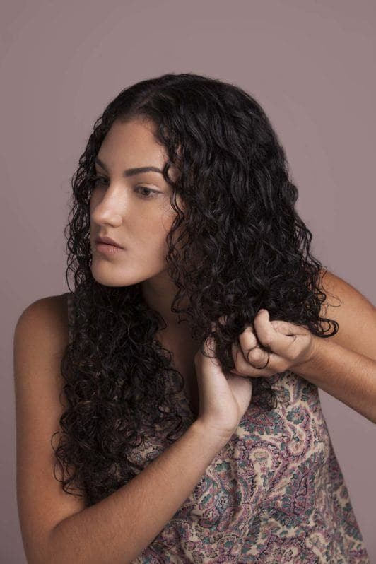 how to use a diffuser scrunch hair with mousse