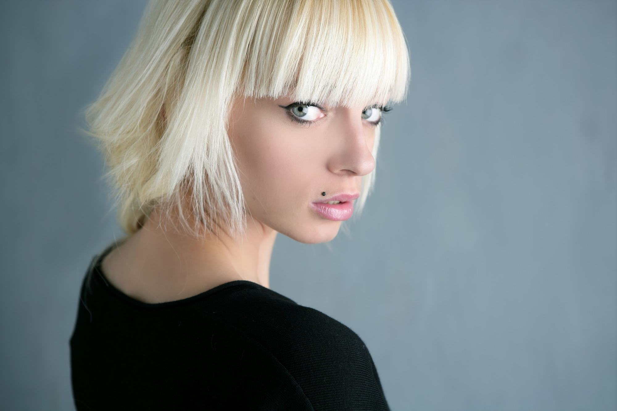 bleached hair styles bangs 18 ways to wear this edgy style 2720