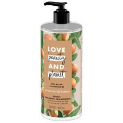 love beauty and planet shea butter & sandalwood gentle cleansing conditioner