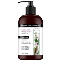 apothecare essentials coconut milk jasmine and vitamin E shampoo