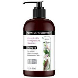 apothecare essentials coconut milk jasmine and vitamin E shampoo