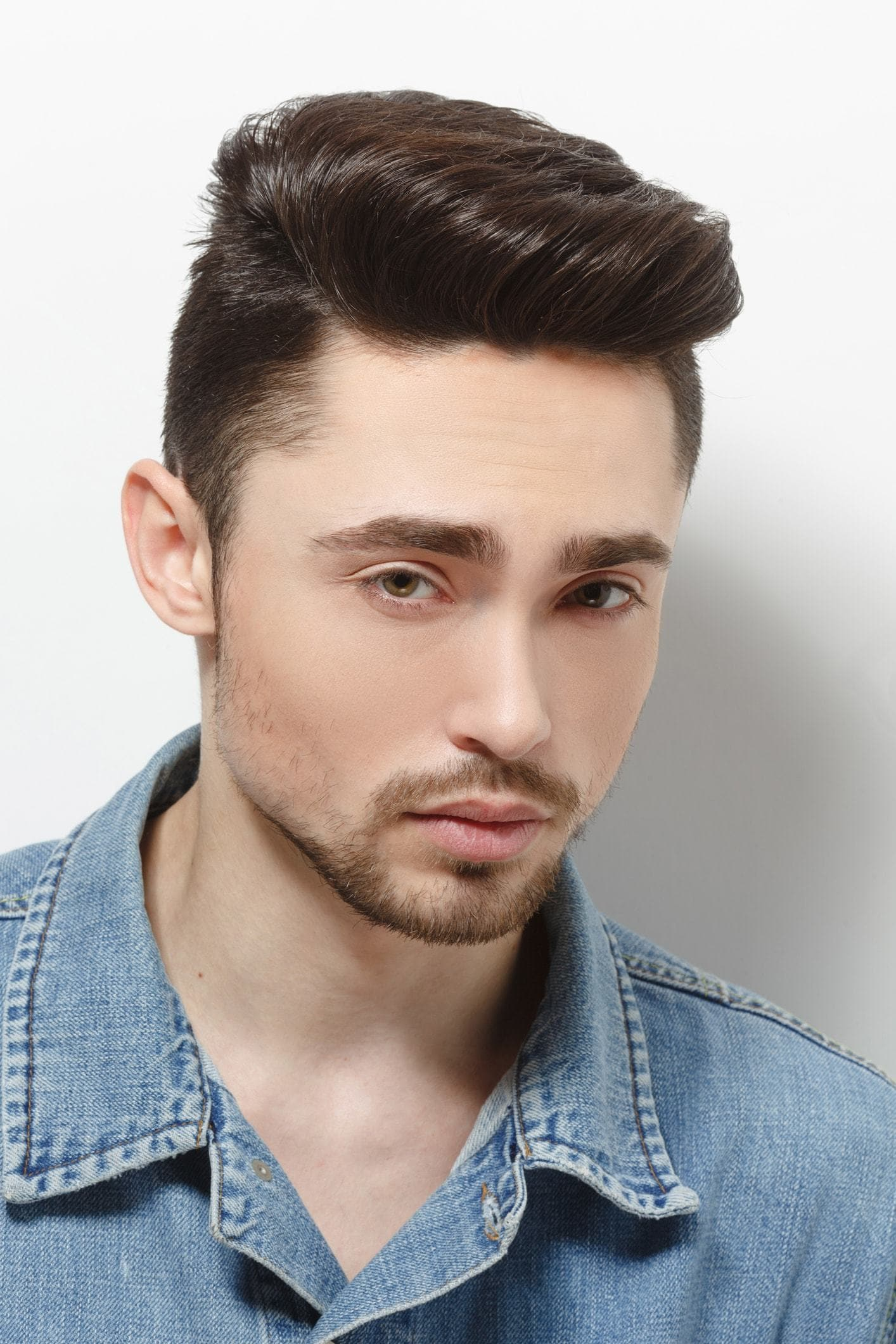 professional haircuts for guys classic pompadour