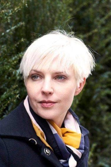 different face shapes: pixie feathered bangs