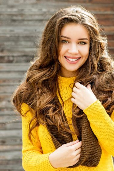 foods for healthy hair long loose curls brunette food good for hair