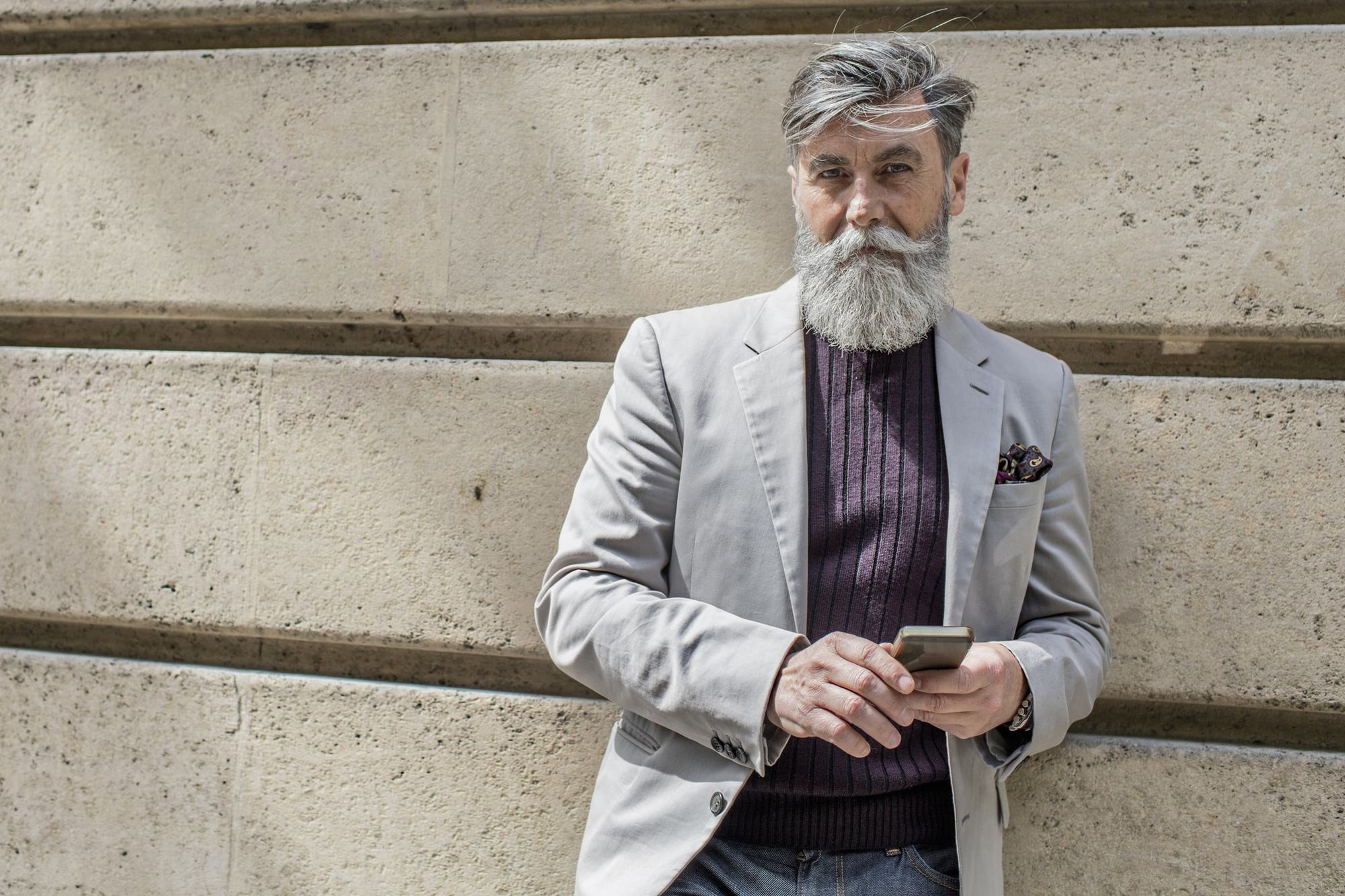 On Trend Hairstyles For Men Over 50