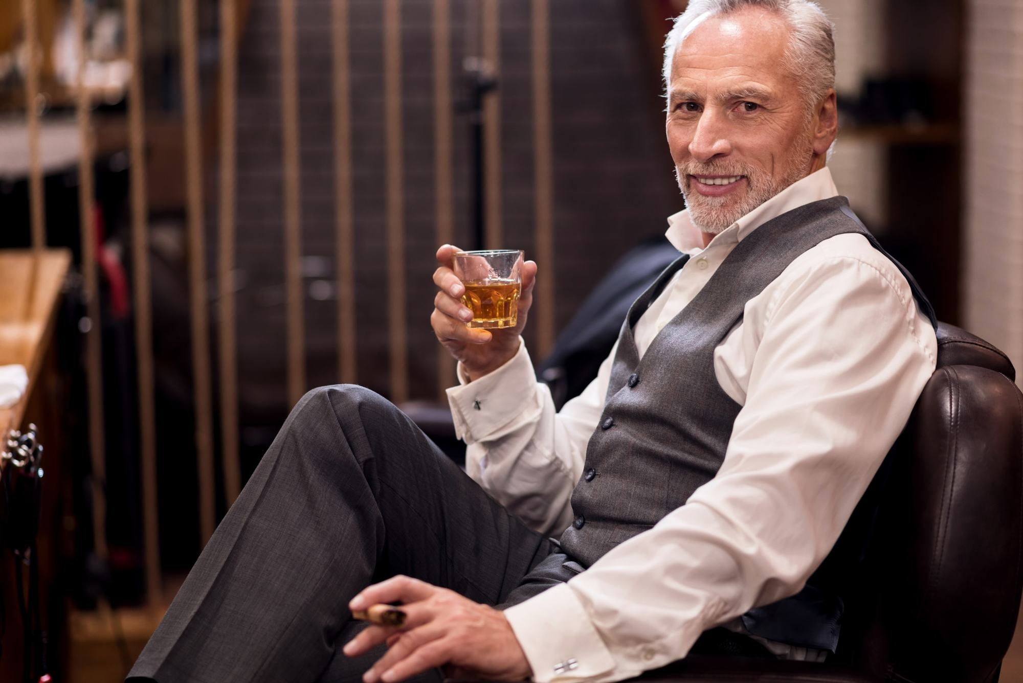 hairstyles for men over 50 styled
