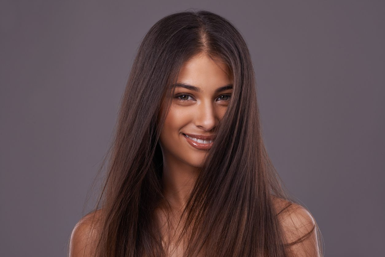 cute hairstyles for straight hair middle part