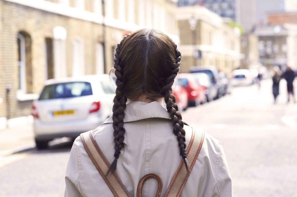 medium brown hair double dutch braids