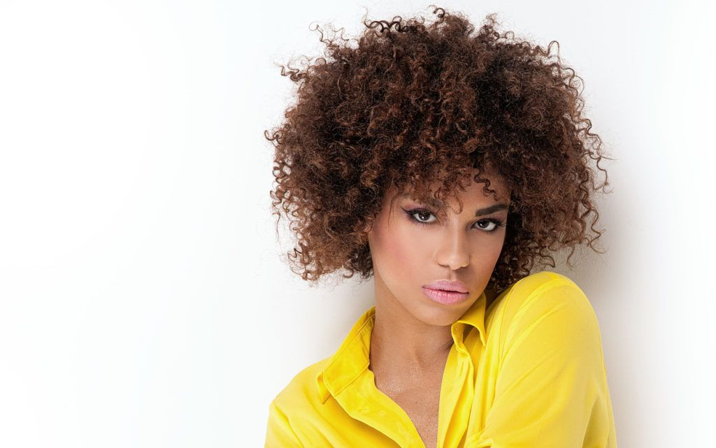 curly afro hair styles 20 curly hairstyles for black 9271