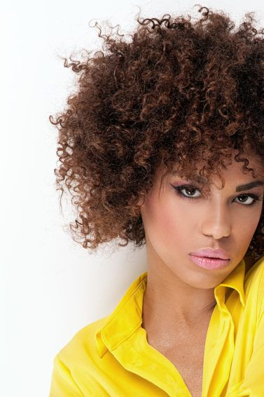 dry haircut for curly hair