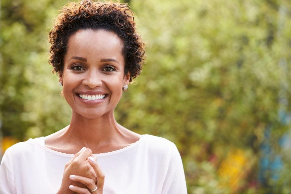 short curly hairstyles for black women: wet curls
