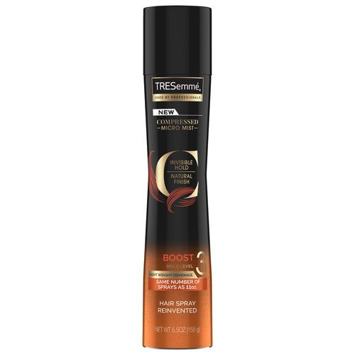 TRESemmé COMPRESSED MICRO MIST HAIRSPRAY BOOST HOLD LEVEL 3