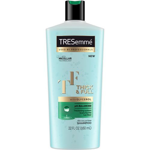 best styling products for thick hair tresemm 233 thick amp shampoo 1745