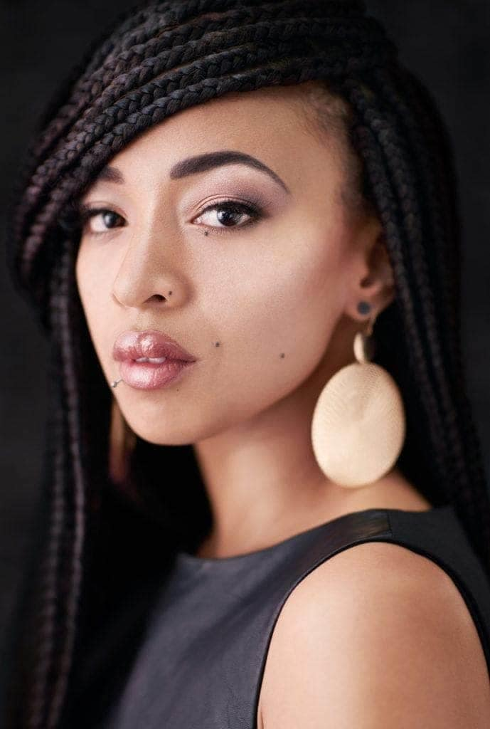 Box Braids On Natural Hair How To Create Them 13