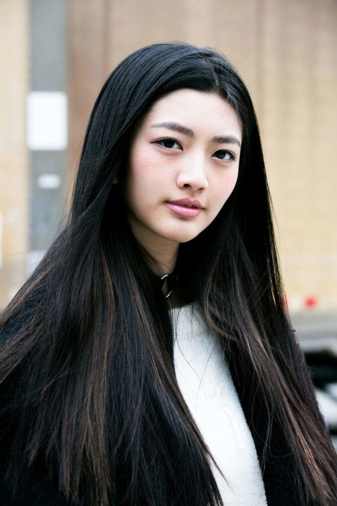 chinese hairstyles straight
