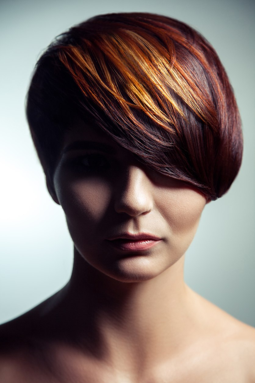 hair color styles short hair wedge haircut 14 and sweet looks we been loving 1364 | fashion portrait colored dyed hair professional short hair coloring. 638157212 838x1258