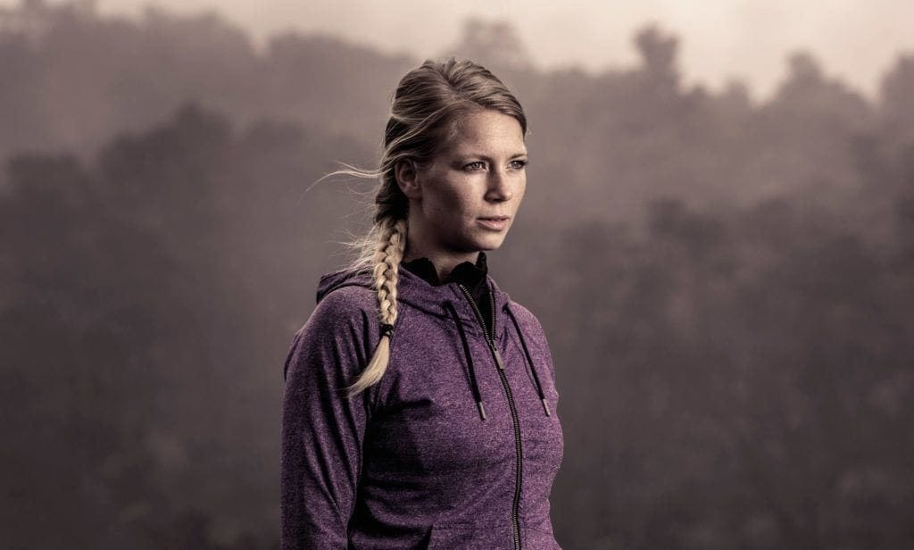 hairstyles for athletes: side braid