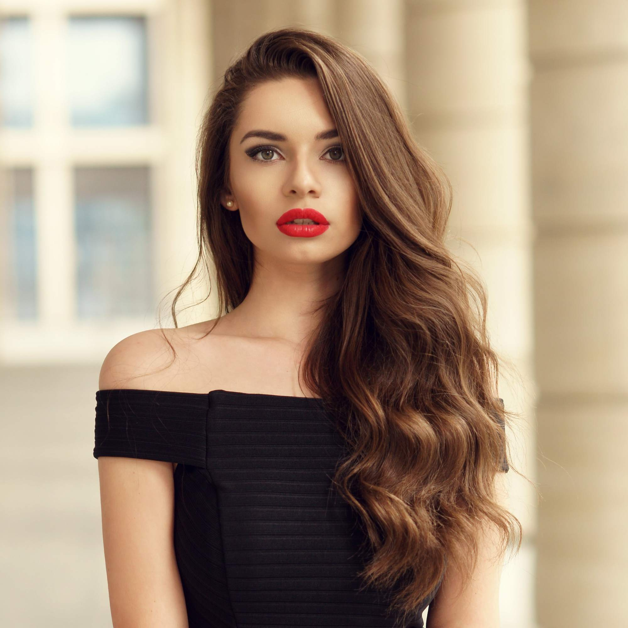 hairstyles for long brown hair cowlick brushed curls