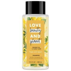 love beauty and planet ylang ylang shampoo