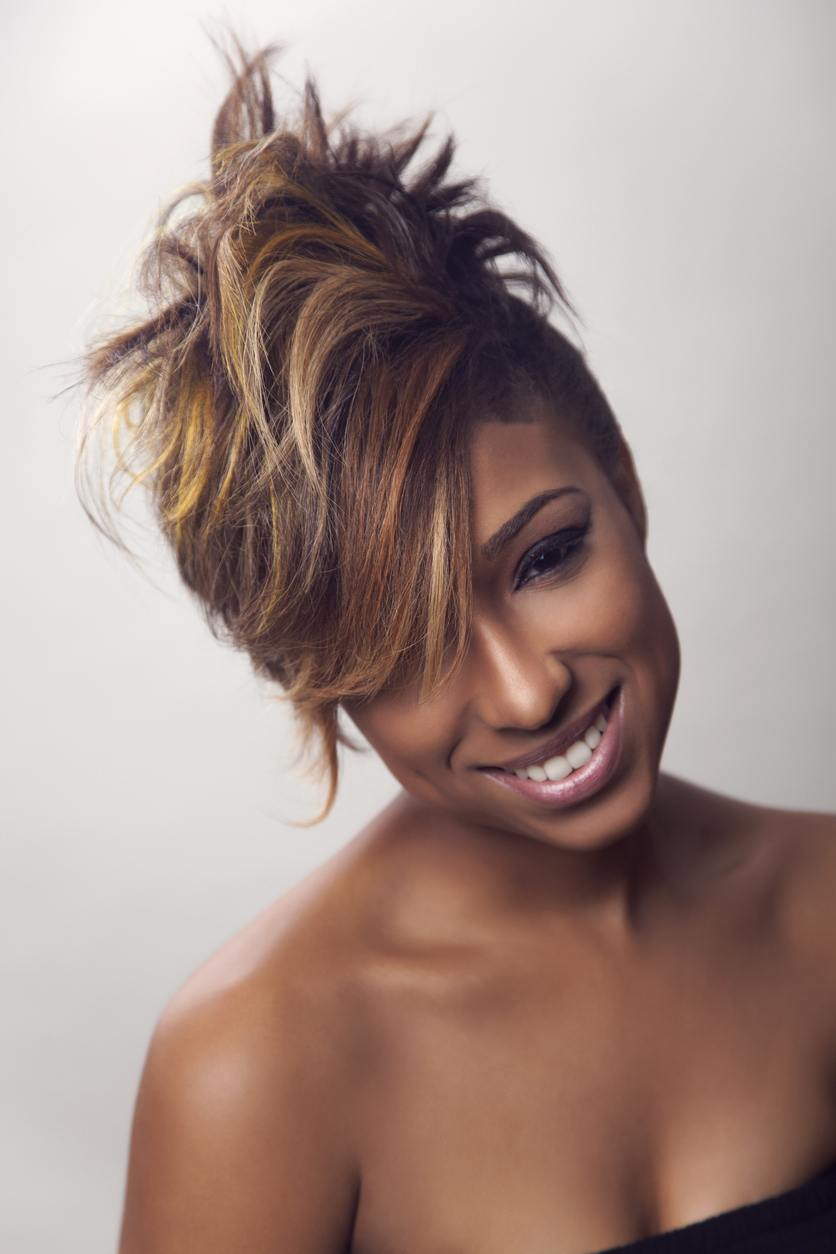 mohawk hairstyles for black women: straight